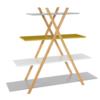 Raft,multicolor/bambus, JENSEN BBP-44
