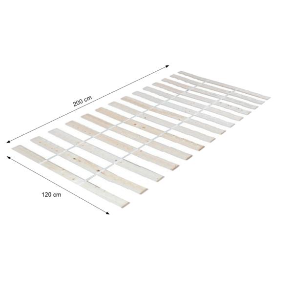 Suport pentru saltea rulat, 120x200 cm, PLAZA