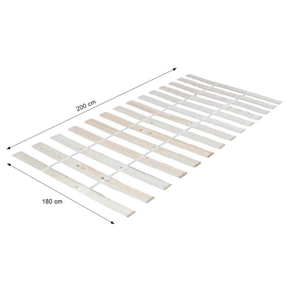 Suport pentru saltea rulat, 180x200 cm, PLAZA