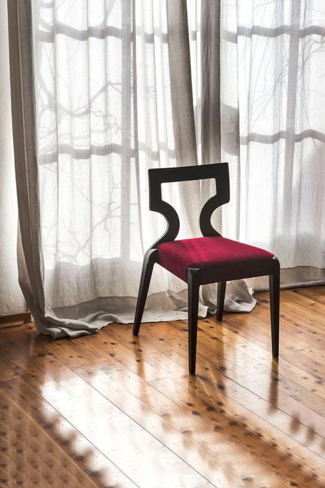 Scaun lemn fag cu sezut tapitat Sendy 152 1 SE