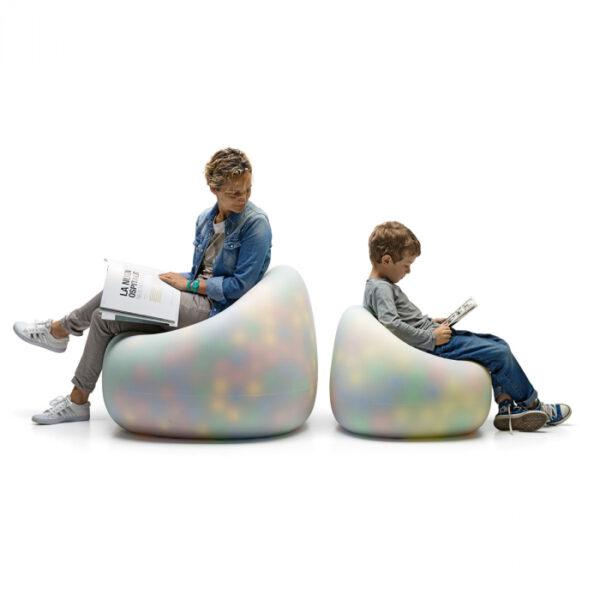 Canapele plastic GUMBALL NEUTRO
