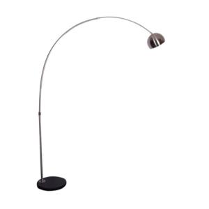 Lampă semicerc, oţel inoxidabil/marmură neagră, CINDA TYP 15 F1034-S