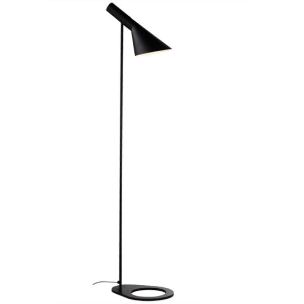 Lampă pe picior, metal negru, CINDA TYP 2 F6114