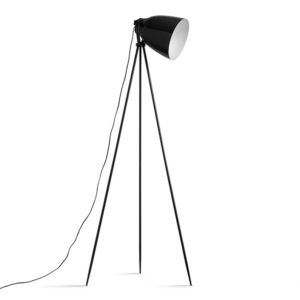 Lampă pe picior, metal negru, CINDA TYP 5 YF6249