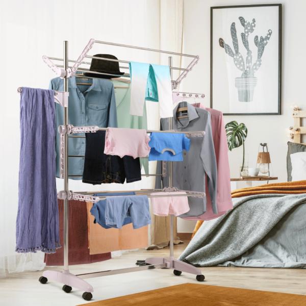 Uscător de haine, violet deschis, DENAL