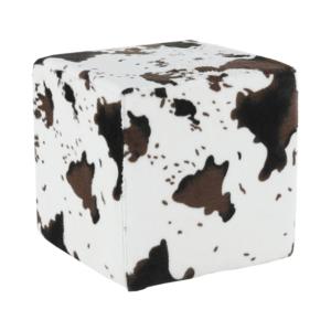 Taburet, material textil animal, COW
