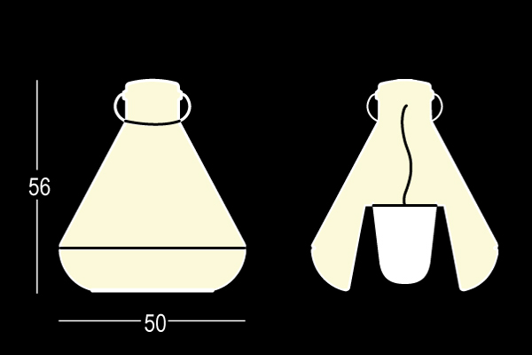 Corpuri de iluminat exterior polietilena SPOT LIGHT