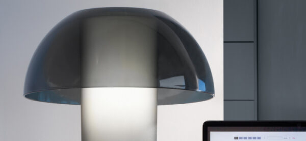 Veioza cu abajur din policarbonat COLETTE L003TB