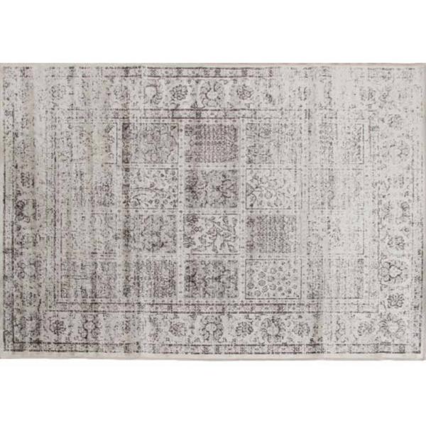 Covor vintage 100x140 cm, gri, ELROND