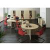 Masa de birou, stejar sonoma, TEMPO ASISTENT NEW 020 ZA