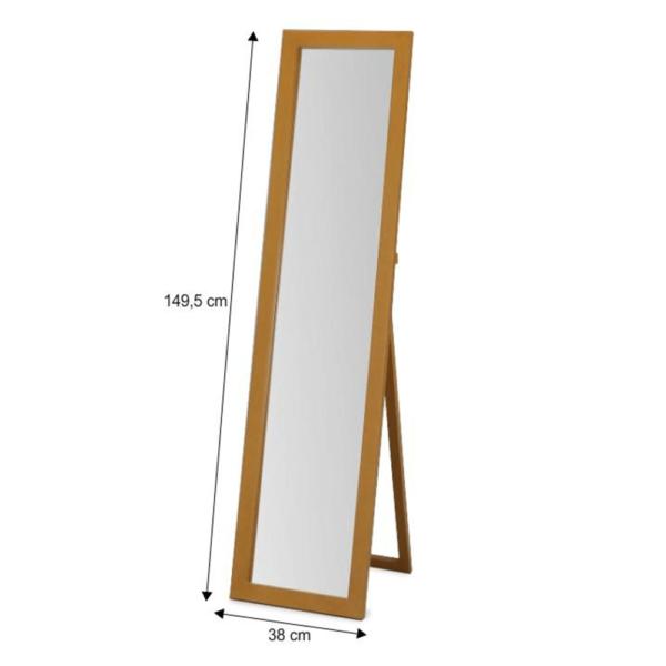 Oglindă, de podea, stejar, AIDA NEW 20685-S-K