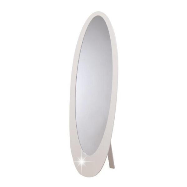 Oglindă, strălucire albă, MDF rama, SASKIA