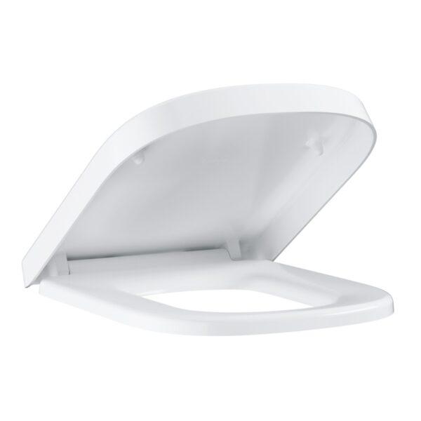 Capac wc Grohe Euro Ceramic, inchidere lenta, alb,set fixare inclus-39330001
