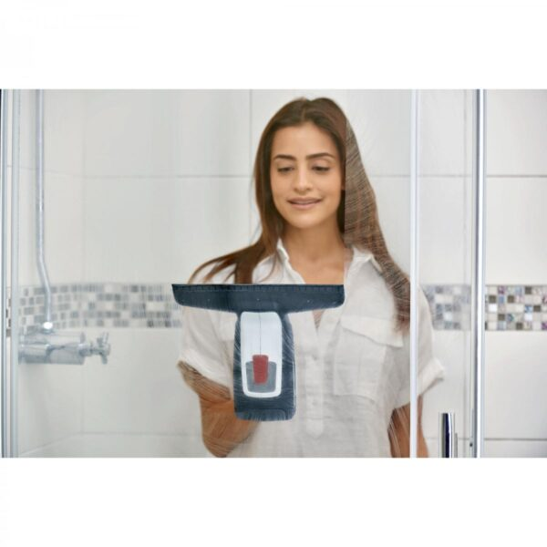 Aspirator geamuri Bosch Glassvac,3.6 V, Cu acumulator, Rezervor 100 ml, Autonomie 30 min. (max.), Alb/Negru, 06008B7000