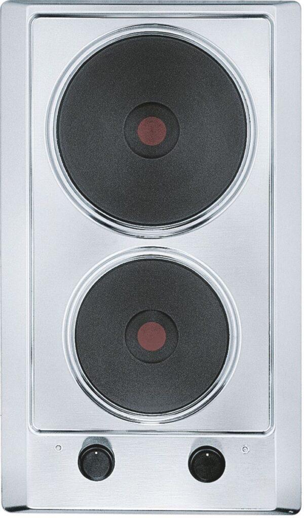 Plita incorporabila Franke Multi Cooking 300 FHM 302 2E XS, Electrica, 2 arzatoare, 30 cm, Inox