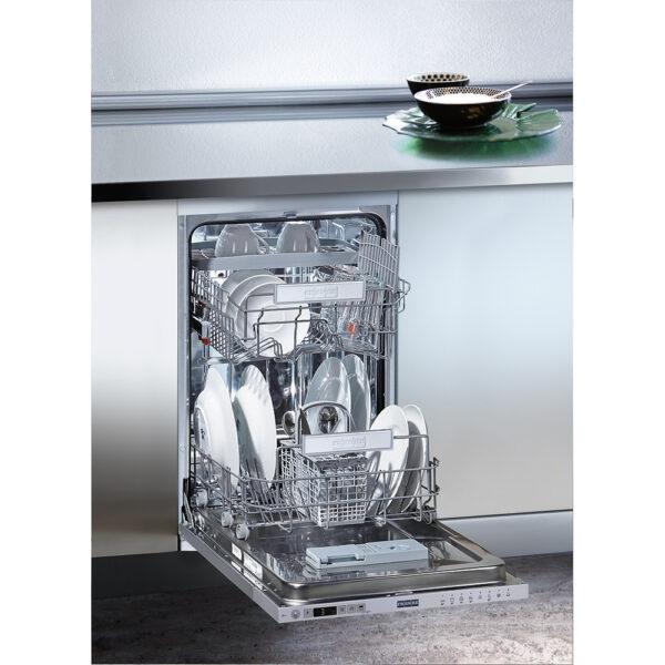 Masina de spalat vase Franke FDW 4510 E8P A++ 117.0571.570, Total incorporabila, 10 seturi, 8 programe, A++