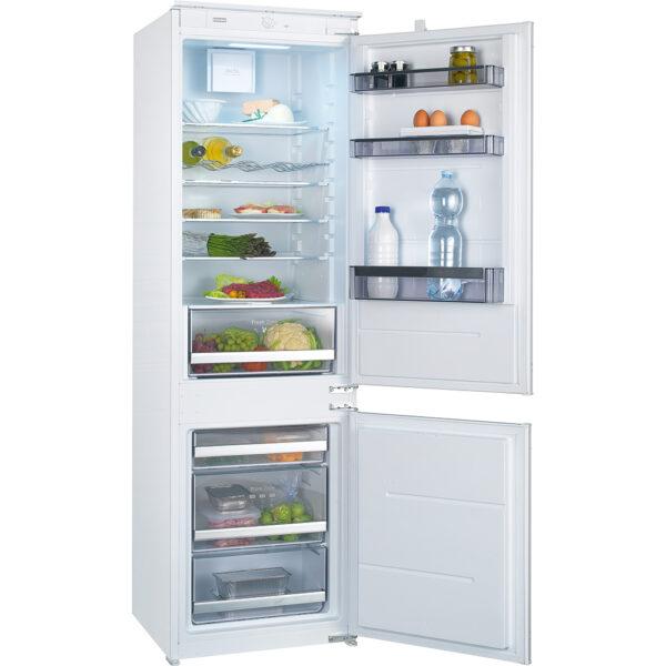Combina frigorifica incorporabila Franke FCB 320 NR V A+ 118.0532.354, 258 L, Static, Sertar fructe si legume, Comanda mecanica, H 177.2 cm, Clasa A+