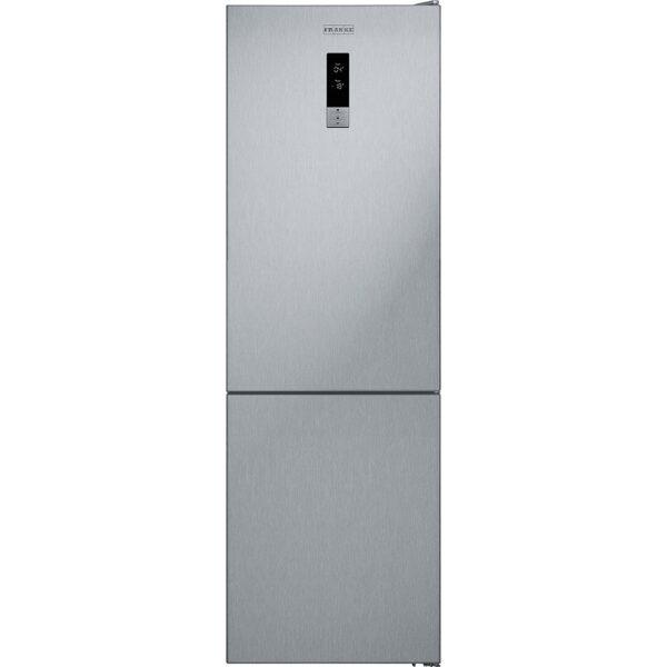 Combina frigorifica Franke FCBF 340 TNF XS A+ 118.0542.065, 324 L, No frost, Afisaj digital, Sertar legume si fructe, Usi reversibile, Clasa A+, H 186 cm, Inox