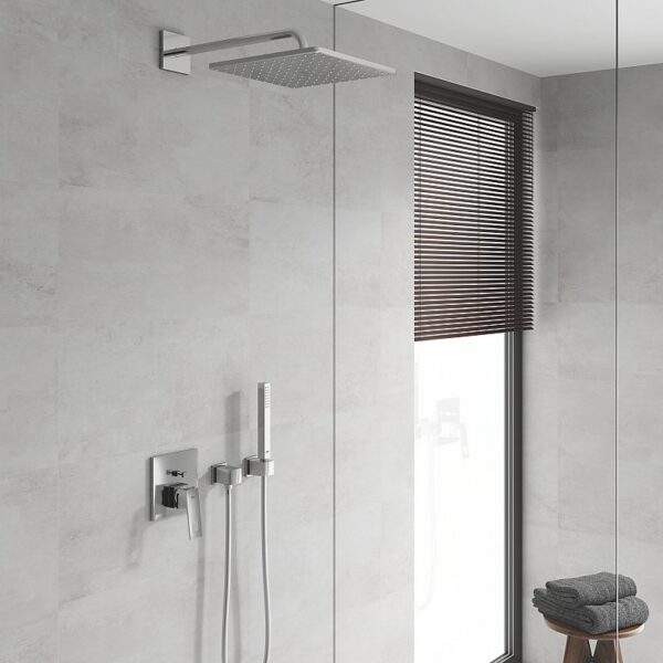 Sistem dus montaj incastrat Grohe Cube Perfect shower,para dus 31 cm ,corp incastrat inclus-25238000