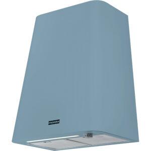 Hota Franke Smart deco FSMD 508 BL 335.0530.203, Decorativa perete, Capacitate 650 m3/H (maxim, mod evacuare), 3 viteze+intensiv, Comanda mecanica, Latime 50 cm, Matt Smokey Blue