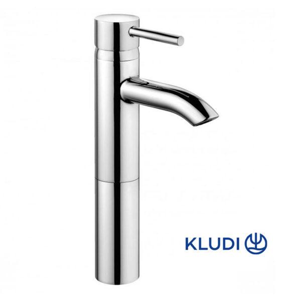 Baterie baie pentru lavoar, Kludi Bozz, montare blat, monocomanda, finisaj cromat-382960576