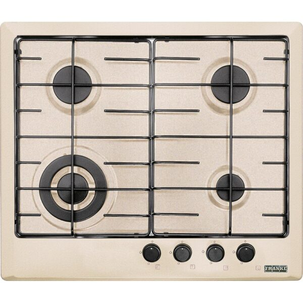 Plita incorporabila Franke Multi Cooking 600 FHM 604 3G TC SH E, 4 arzatoare gaz, 60 cm, Sahara 106.0037.680