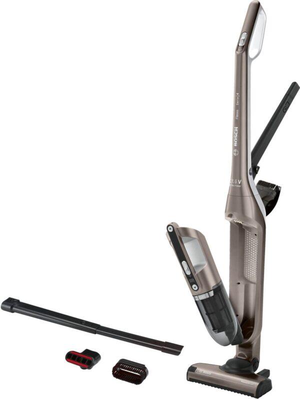 Aspirator vertical cu acumulatori Bosch BCH3ALL21, 21.6V, Li-Ion, Cinnamon brown metallic