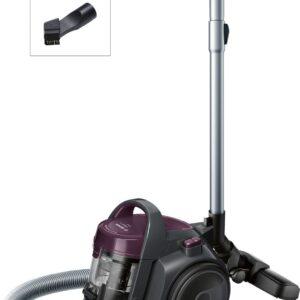 Aspirator fara sac Bosch GS05 Cleann'n BGC05AAA1, 700 W, 1.5 l, EPA, Gri-stone/Dark Violet