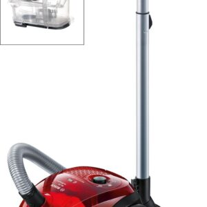 Aspirator Bosch GL-20 Bag&Bagless BGL2UA2008, 700 W, 3.5 l, Cherry red transparent