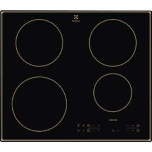 Plita incorporabila Electrolux CIT60430CB, Inductie, 4 Arzatoare, Control touch, 60 cm, Sticla neagra