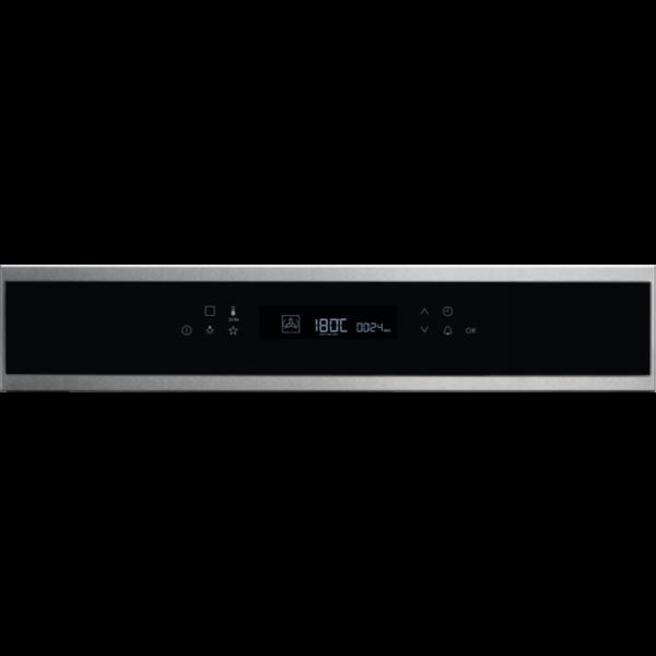 Cuptor incorporabil multifunctional Electrolux SenseCook COE7P31X, 71L, 11 functii gatire, Autocuratare pirolitica, Sonda temperatura, Afisaj LCD, Grill, Clasa A+, Inox