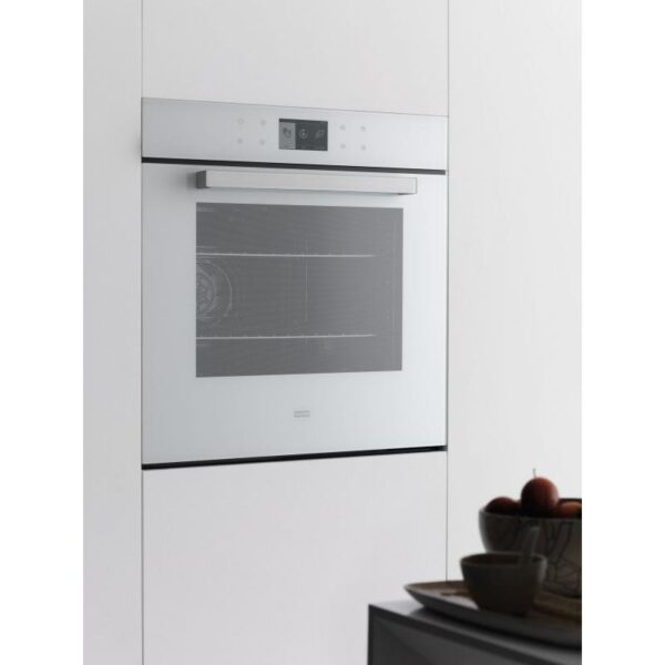 Cuptor incorporabil Franke Crystal White CR 913 M WH DCT , Electric, 18 functii, 74 l, Clasa A++, TFT, Touch control, Alb 116.0374.296