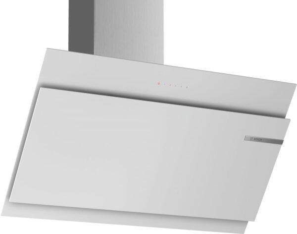 Hota Bosch DWK97JM20, absorbtie periferica, 730 mc/h Intensiv, TouchControl, 1 motor, 90 cm, Sticla alba