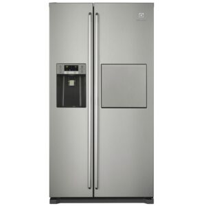 Frigider Side by Side Electrolux EAL6142BOX, 527 l, No Frost, A+, LCD, LED,Dozator, Inox