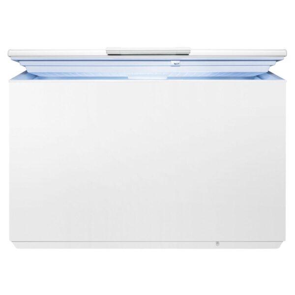 Lada frigorifica Electrolux EC4201AOW, 400 L, A+, SpacePlus, 4 cosuri, Action Freeze, Indicatori LED pe maner, Yala, Latime 133 cm, Alb