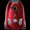 Aspirator cu sac Electrolux Easy Go EEG43WR, 650W, 3.5 L, Epa 12, perie DustPro ™, perie mini-turbo, Rosu