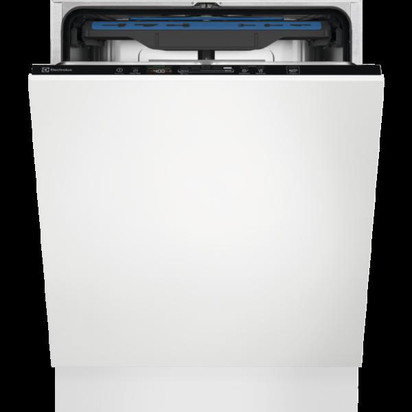 Masina de spalat vase incorporabila Electrolux EEM48321L, 14 seturi, Sertar MaxiFlex, 60 cm, 8 programe, Usa slide, Motor inverter, Afisaj digital, Time Beam, Clasa A+++