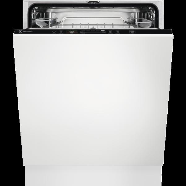 Masina de spalat vase incorporabila Electrolux EES47320L, 13 seturi, QuickSelect, 60 cm, 8 programe, Usa slide, Motor inverter, Afisaj digital, Indicator luminos pe podea, Clasa A+++
