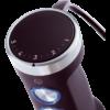 Blender de mana Electrolux Create EHB1-6SS, 600 W, Mini-tocator, Tel, Negru/Inox