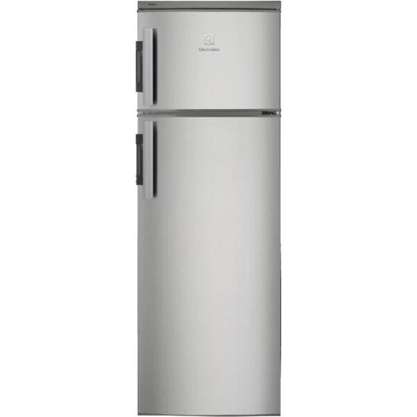 Frigider cu 2 usi Electrolux EJ2801AOX2, 265 l, A+, H 159 cm, Inox