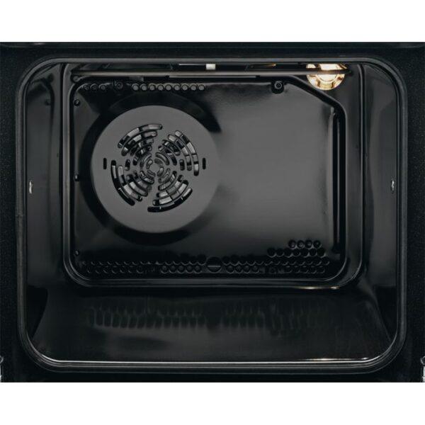 Aragaz Electrolux EKC66700OW 60x60 cm, Plita vitroceramica 4 zone de gatit, Cuptor electric multifunctional (10 functii), Autocuratare pirolitica, Grill electric, 54 l, Alb