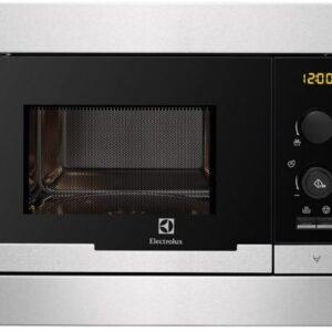 Cuptor cu microunde incorporabil Electrolux EMS20107OX, 20 l, 800 W, Inox