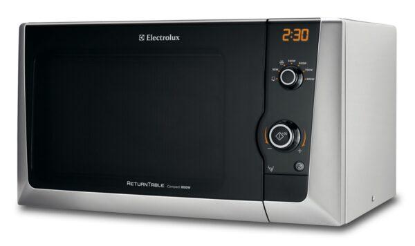 Cuptor cu microunde Electrolux EMS21400S, 800 W, 18.5 l, Grill, Argintiu