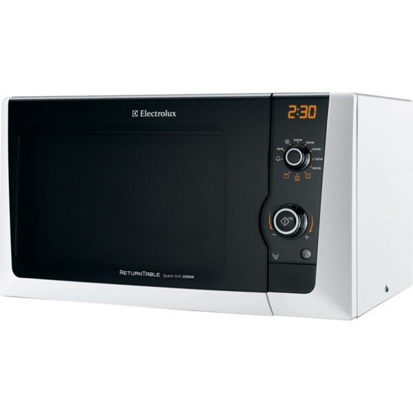 Cuptor cu microunde Electrolux EMS21400W, 800 W, 18.5 l, Grill 1000 W, Alb