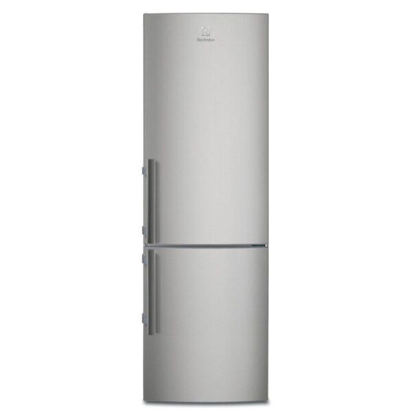 Combina frigorifica Electrolux EN3601MOX, 337 l, A++, H 184.5 cm, Inox