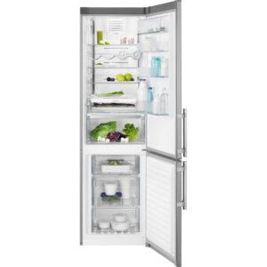 Combina frigorifica Electrolux EN3790MKX, No Frost Inteligent, 319 l, Clasa A++, H 200 cm, Inox