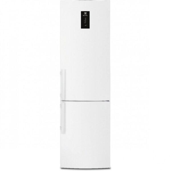 Combina frigorifica Electrolux EN3852JOW, No Frost, 357l, A+, Touch control, H 200.5 cm, Alb