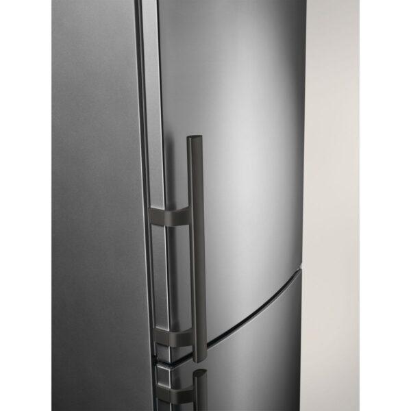 Combina frigorifica Electrolux EN3853MOX, No Frost, 357 l, Clasa A++, Inox antiamprenta