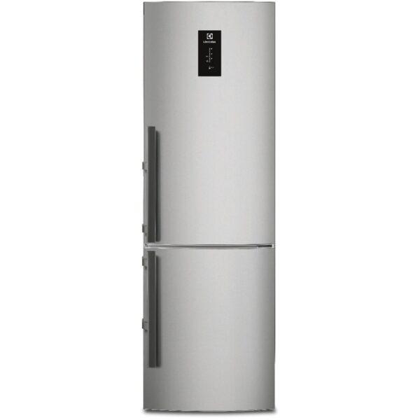 Combina frigorifica Electrolux EN3854MOX, No Frost, 357 l, A++, Touch control, H 200.5 cm, Inox