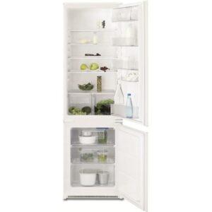 Combina frigorifica incorporabila Electrolux ENN2800BOW, 277 l, Clasa A+, H 178 cm, Alb